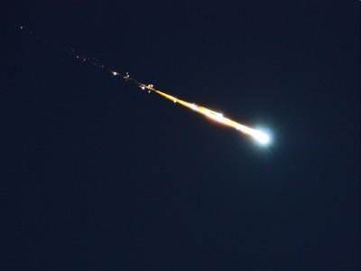 Meteorito reciente