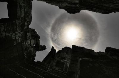 El Sol visto desde Camboya